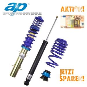 AP Gewindefahrwerk für AUDI A3 Sportback (8PA), nur VA-Federbein Ø50mm