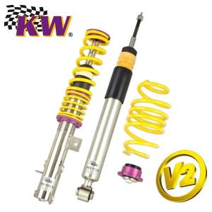 KW Gewindefahrwerk für HONDA ACCORD V Coupe (CD7, CD9) Variante 2-Inox (Zugstufendämpfung)