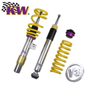 KW Gewindefahrwerk für VW BORA Kombi (1J6) Variante 3-Inox (Druck- & Zugstufendämpfung)
