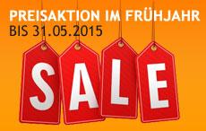 SALE bis 31.05.2015