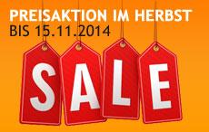 SALE bis 30.09.2014