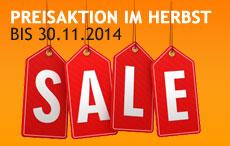 SALE bis 30.11.2014