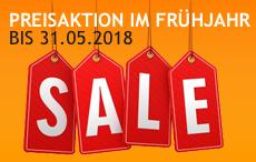 SALE bis 31.05.2018