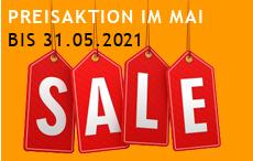 SALE bis 31.05.2021