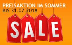 SALE bis 31.07.2018