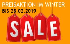 SALE bis 28.02.2019